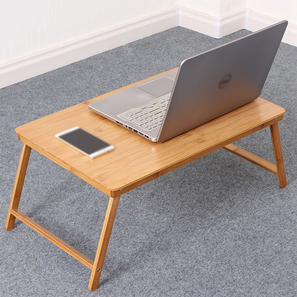 Amazon.com: Mesa plegable CHUNLAN de bambú portátil ...