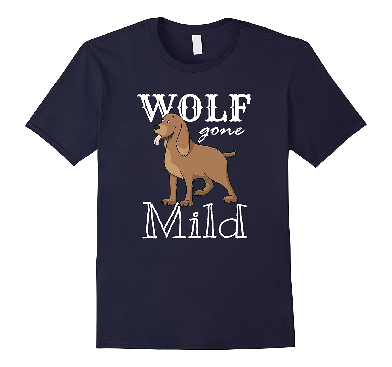 Cocker Spaniel Dog Puppy Wolf T-Shirt Cartoon-TH