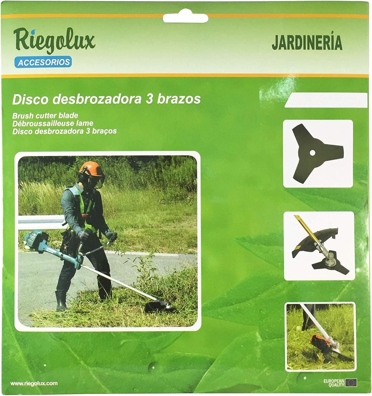 Amazon.com : Riegolux 107645 Trimmer Blade 3 Arms, 230 x 25 ...