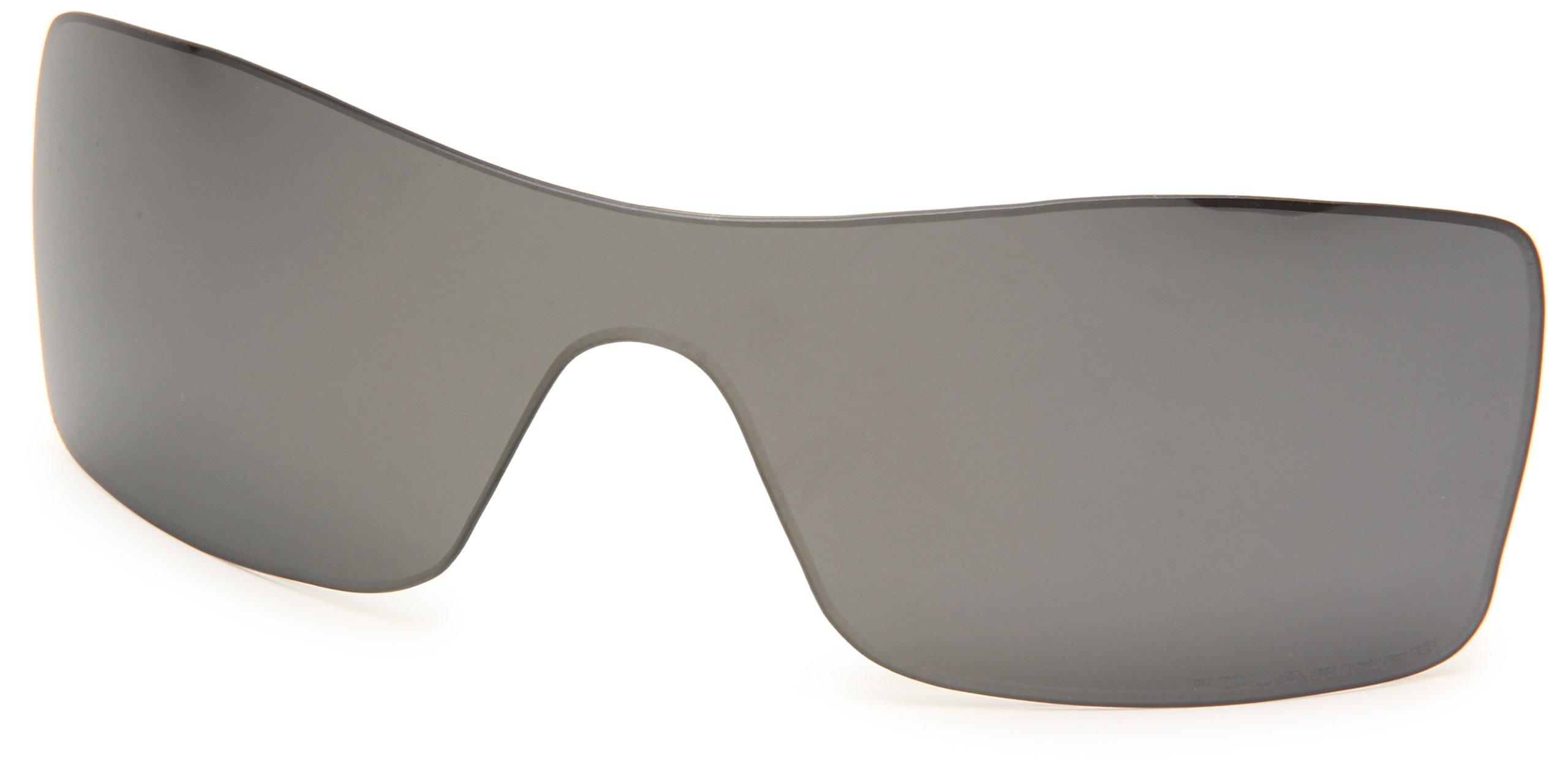 Oakley Batwolf 43-352 Polarized Replacement Lens Kit,Multi Frame/Black Lens, 127mm