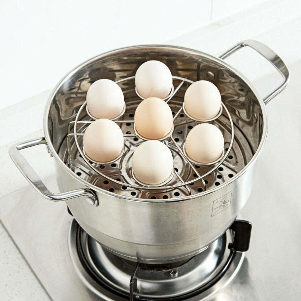 YidaLife Egg Steamer Rack,2-Pack Stainless Steel Steaming Stand for Instant Pot Two Pack Egg Streamer Rack Multipurpose Egg Steam Rack
