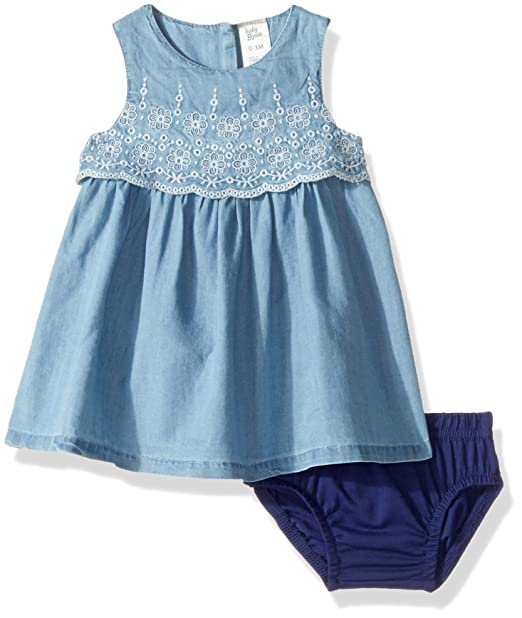OshKosh BGosh Baby Girls Dress 12033510, Denim (463), ...