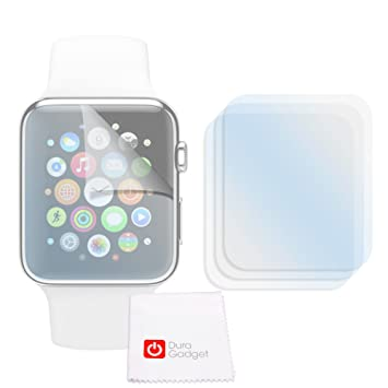Lot de 3x films de protection pour montre connectée Apple Watch (iWatch) écran 42mm