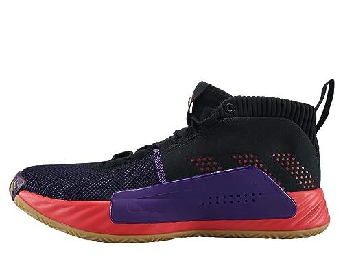 check out 6ae45 df2f4 adidas - Zapatillas de Baloncesto de Sintético para Hombre Negro Negro  Amazon.es Zapatos y complementos