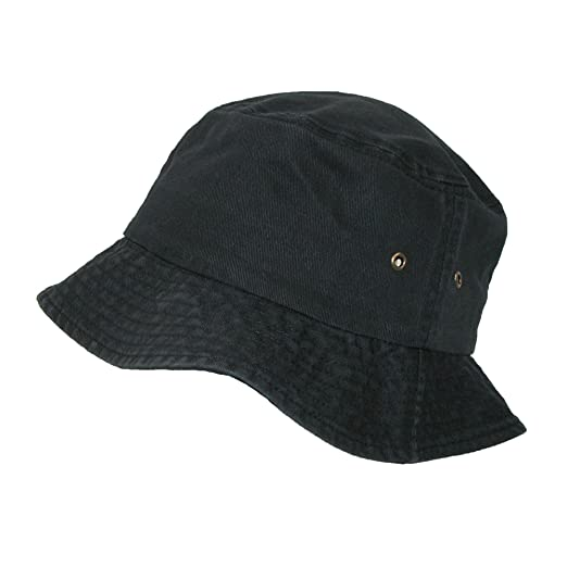 2afcee87ff5 Image Unavailable. Image not available for. Color  Sportsman Cotton Twill  Summer Packable Travel Bucket Hat ...