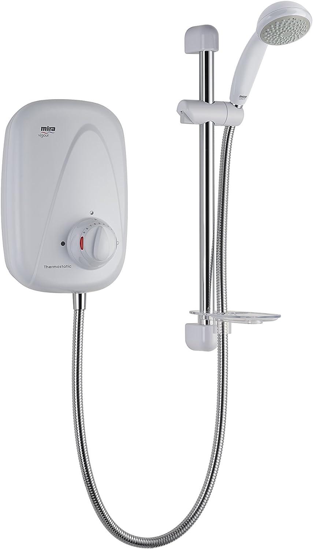Mira Showers 1.1532.353 Vigour Thermostatic Power Shower, White