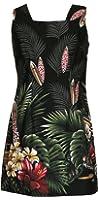 Robert J. Clancey Women's Surfboard Woodie Cotton a Line Short Tank Dress