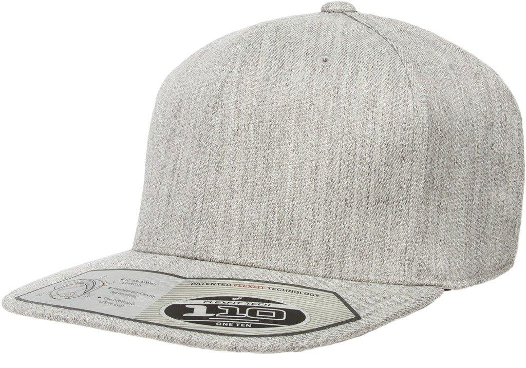 Flexfit HAT メンズ B01KKI7C48 ヘザーグレー ヘザーグレー
