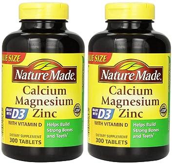 882d851dfc97 Amazon.com   Nature Made Calcium Magnesium Zinc Tablets with Vitamin ...
