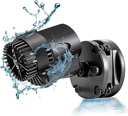 AQUANEAT Aquarium Wavemaker Circulation Pump 480GPH Submersible Powerhead Fish Tank Water Pump w//Suction Cup Mount
