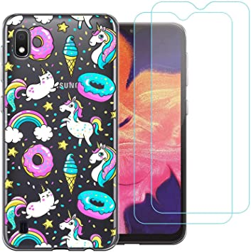 Funda Samsung Galaxy A10 2019,Donut de unicornio Flexible Suave ...