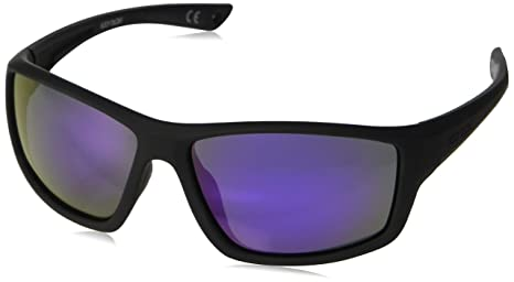 acbce19ed2 Image Unavailable. Image not available for. Color  Body Glove FL 21 Smoke  with Purple Mirror Sunglasses ...