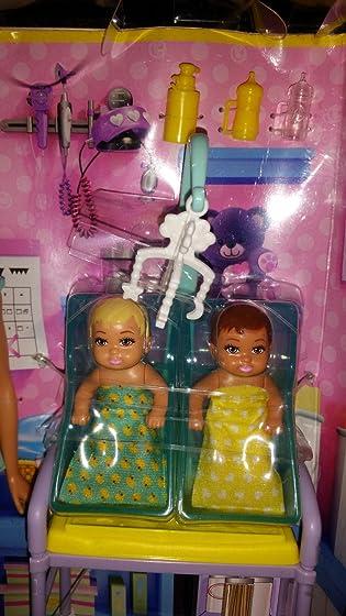 Barbie Careers Baby Doctor Playset Great set!