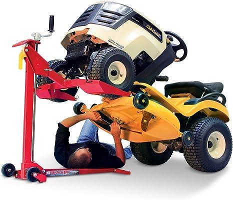 Amazon.com: Elevador para tractor cortacésped MoJack ...
