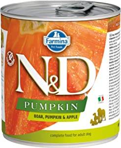 Farmina N&D Canine Pumpkin Boar & Apple 10 Ounces, case of 6