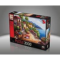 Ks Games- Silent Shore Jin Park 2000 Parça Puzzle