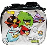 1 X Lunch Bag - Angry Birds - Space (Black/Silver)