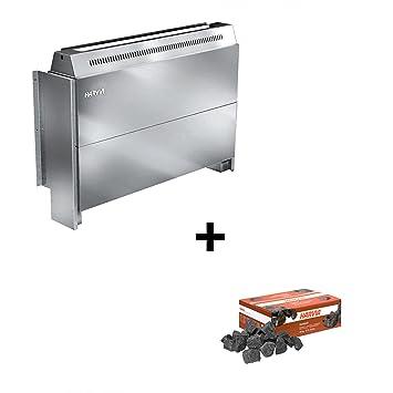 Harvia - Estufa Horno eléctrico para sauna elektroofen Hidden Heater hh12 12,0 kW hh120400: Amazon.es: Jardín
