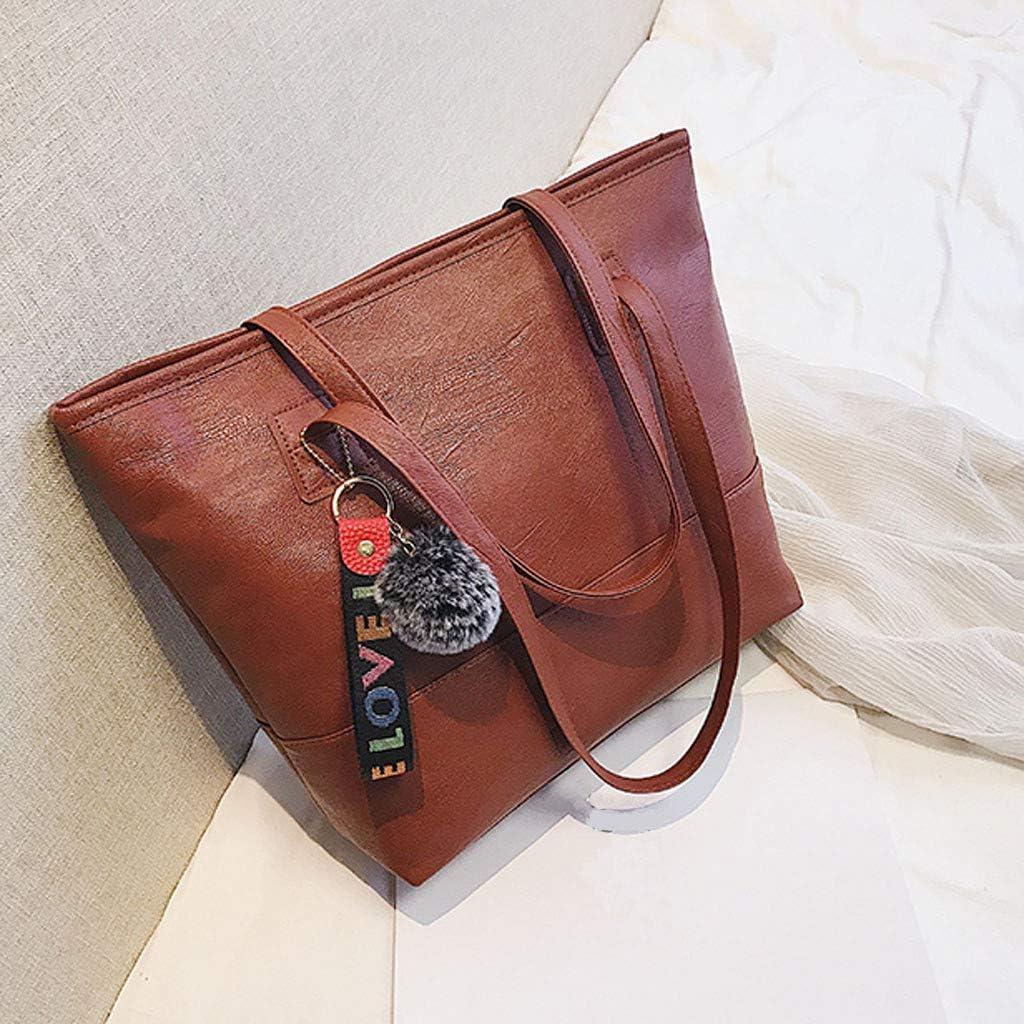 HebeTop◄ Women Leather Handbag Designer Tote Shoulder Work Purses