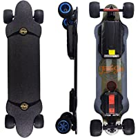 """Teamgee H20T 39"""" Electric Skateboard with Rubber Wheels, 1200W Dual Motor, 7500mAh Battery, 26PMH Top Speed, 18 Miles…"""