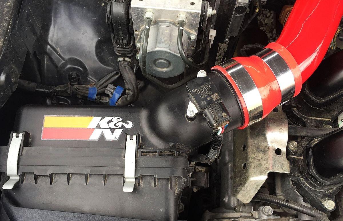 Red Powder Coat SSD Performance Fits 2019 Subaru Impreza Non-Turbo Includes K/&N Panel Filter CAI Cold Air Intake Kit