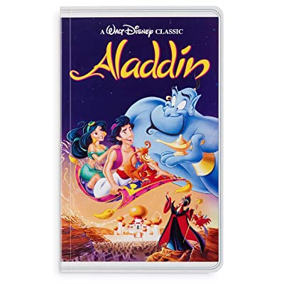 Disney Parks Aladdin VHS Cover Blank Book Journal Diary: Toys & Games