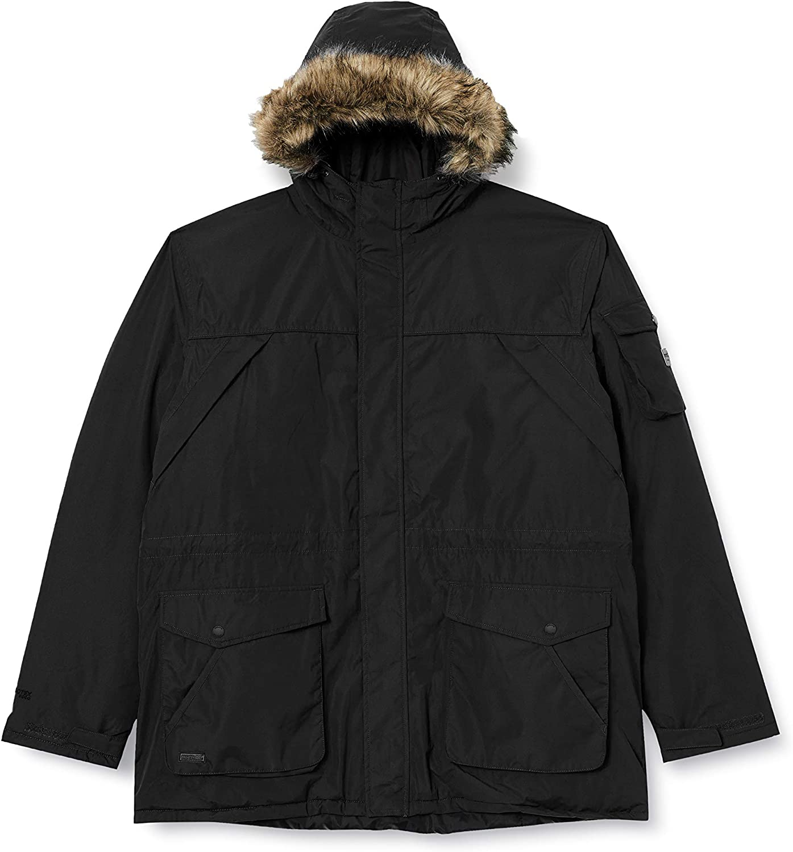Regatta Mens Salinger II Waterproof Max 90% OFF Bla Parka New products, world's highest quality popular! Jacket - Insulated