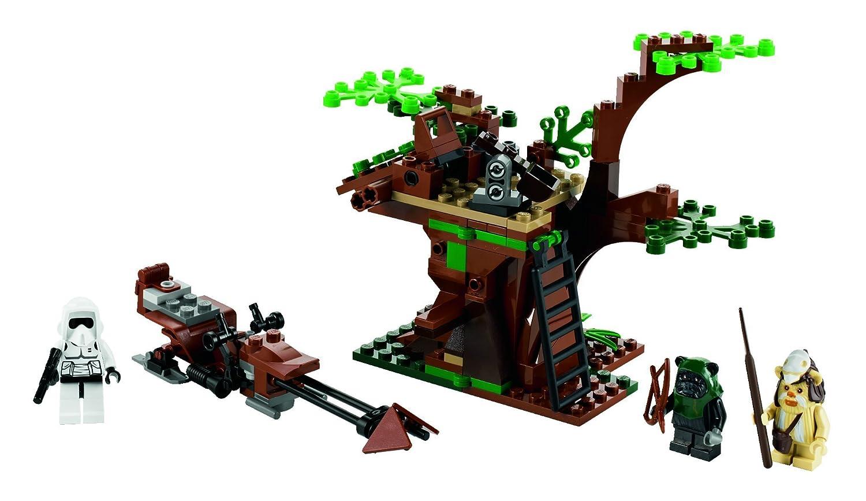 Lego Star Wars 7956 Ewok Attack Amazon Toys Games
