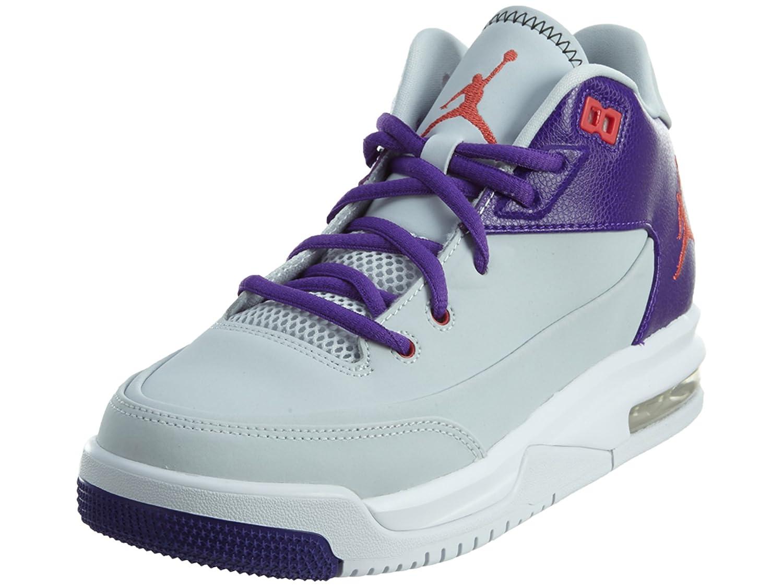 finest selection cb00d 49b7f Jordan Flight Origin 3 BG Boys Basketball-Shoes 820246 Black Grey   Amazon.co.uk  Shoes   Bags