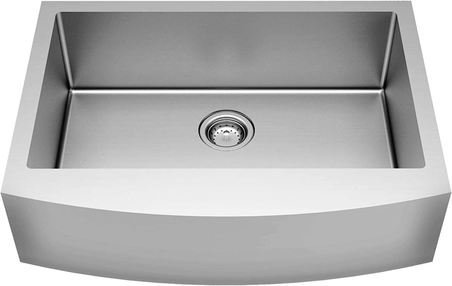 American Standard 18sb 9302200a 075 30 X 22 Pekoe Apron Sink With Grid And Drain Stainless Steel