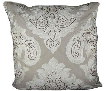 Amazon.com: Árabe algodón damasco, almohada – 20 x 20 en ...
