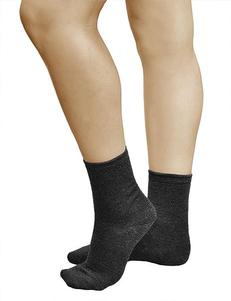 vitsocks Calcetines LANA MERINO Mujer (3 PARES) Para el Frío Invierno Otoño Calidad Premium: Amazon.es: Ropa y accesorios