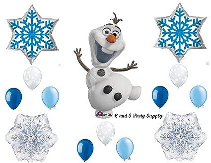 Amazon.com: Olaf de Frozen azul copos de nieve Fiesta de ...