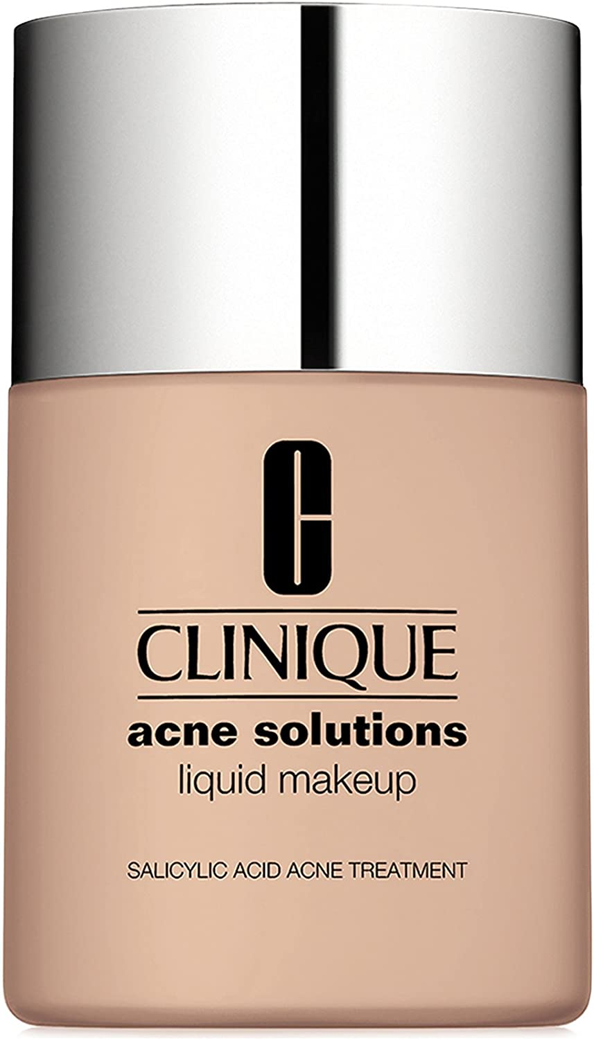 New! Clinique Acne Solutions Liquid Makeup, 1 oz / 30 ml, 02 Fresh Ivory (VF-N)