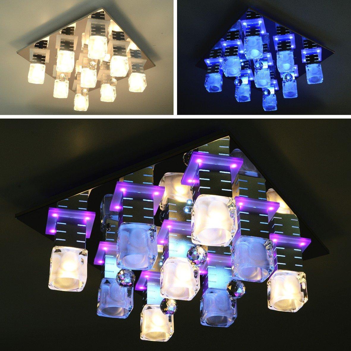 LED Deckenleuchte Deckenlampe Lampe Leuchte Deckenbeleuchtung Wohnzimmer ELLA 9FL