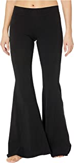 product image for Hard Tail Hippie Chick Flare Pants Black LG 34