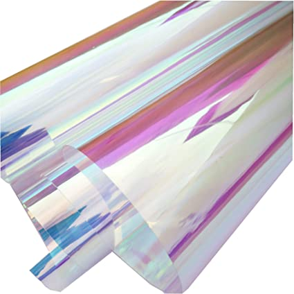 Purple holographic faux leather fabric Vinyl sheet full or 1//2 sheet