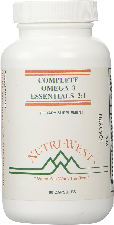 Nutri-West - Complete Omega-3 Essentials 2:1-90 Capsules