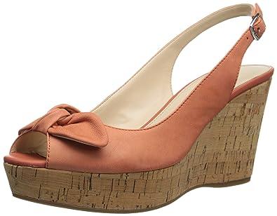 Franco Sarto Women's Vassi Dress Sandal, Coral, ...