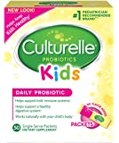 Culturelle Kids Daily Probiotic Packets Dietary Supplement | Helps Support a Healthy Immune & Digestive System | Works Naturally with Your Child's Body | 50 Single Packets