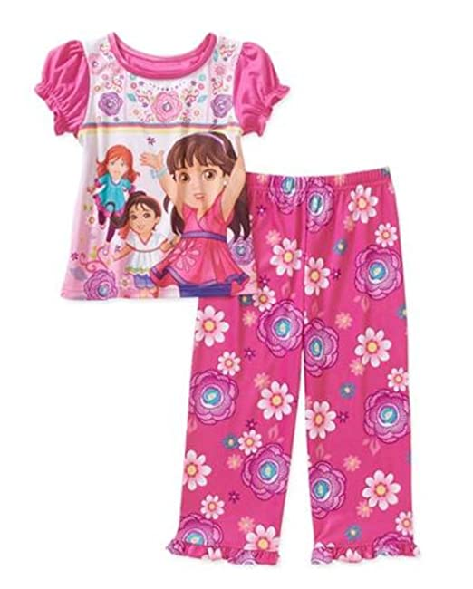 Dora the Explora Dora /& Boots Little Girls Pajamas 2-3 Years