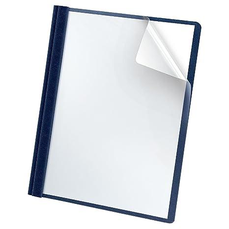 Amazon.com : Oxford Premium Clear Front Report Cover, Letter Size ...