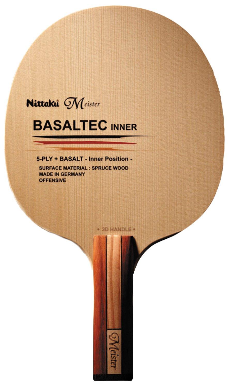 ニッタク(Nittaku) 卓球 ラケット バサルテックインナー3D シェークハンド 攻撃用 特殊素材入り B00ORJSWXM  ストレート