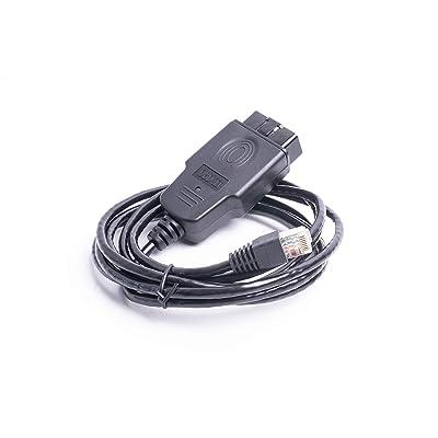 Arteckin ENET Interface Cable (OBD2 to Ethernet rj45) for BMW Coding Diagnostics: Automotive