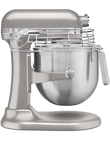KitchenAid KSMC895NP 8-Quart Commercial Countertop Mixer with Bowl-Guard, 10-Speed