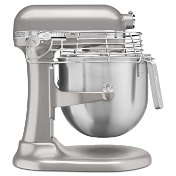 Amazon.com: KitchenAid KSMC895NP 8-Quart Commercial Mixer with Bowl on waring commercial mixer, commercial kitchen mixer, univex commercial mixer, globe commercial mixer, viking commercial mixer, general electric commercial mixer, wolfgang puck commercial mixer, smallest commercial mixer, cake stores commercial mixer, axis commercial mixer,