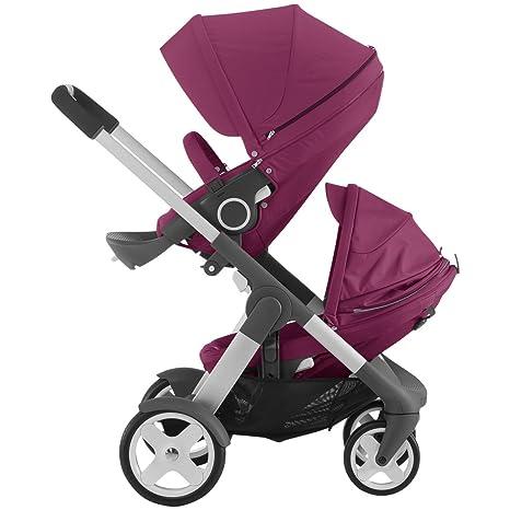 Stokke Crusi Stroller and Sibling Seat (Purple) by Stokke: Amazon.es ...