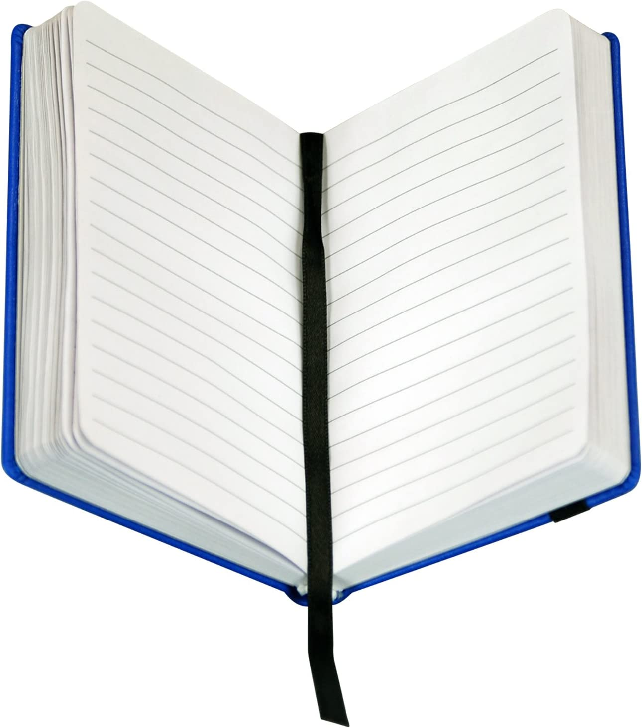 Diary, Notebook 120 Lined Sheets Blue Samsill Writing Journal Hardbound Cover Pocket Size 3.5 x 5.5 240 Pages