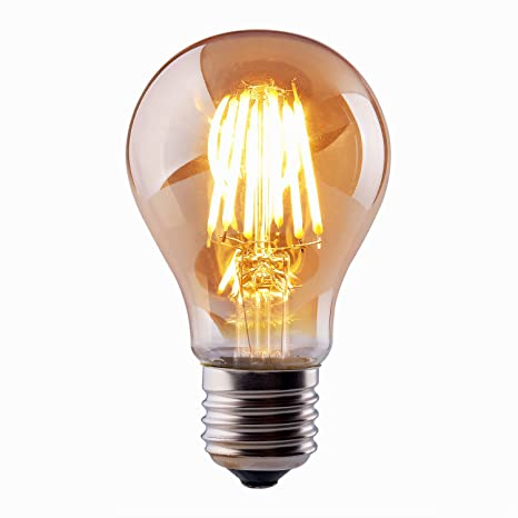 Vintage Thomas Edison Led Light Bulb Dimmable 6w Antique Led Globe