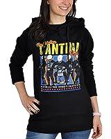 Star Wars Damen Hoodie Cantina Band Kapuzen Pullover schwarz